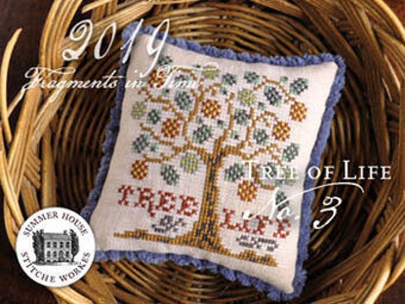 Fragments in Time 2019 Tree of Life - Summer House Stitch Workes - Cross Stitch Chart