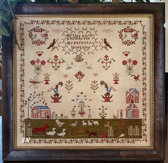 Parents Love - Samplers Not Forgotten - Cross Stitch Chart