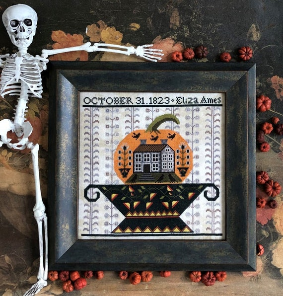 Jack's Urn - Carriage House Samplings - Chart and Beads