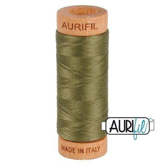 Aurifil 80wt -  Army Green 2905