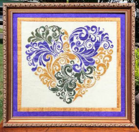 Heart of Many Colors - Keslyn's - Chart only