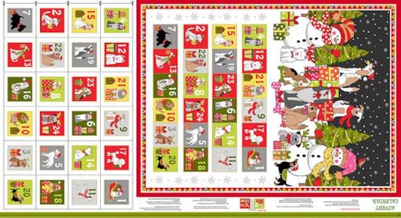 Yappy Christmas Advent Calendar 23681 - panel