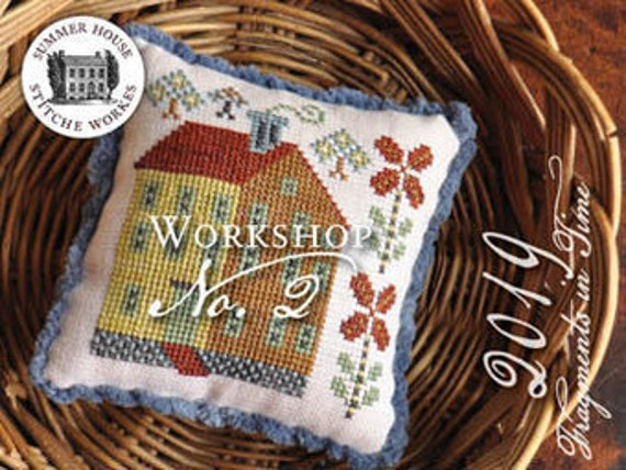 Fragments in Time 2019 No.2 - Summer House Stitch Workes - Cross Stitch Chart