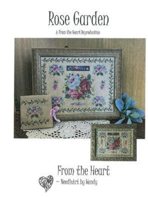 Rose Garden - From the Heart - Cross Stitch Chart