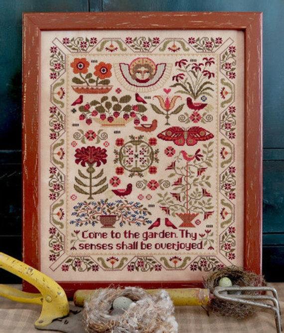 Come to the Garden - Teresa Kogut - Cross Stitch Chart