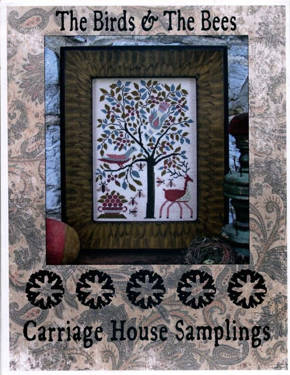 The Birds and The Bees - Carriage House Samplings - Cross Stitch Chart