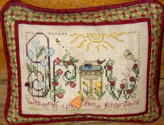 Grow - Shepherd's Bush - Cross Stitch Chart
