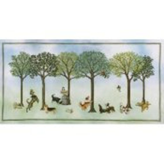 Dog's Day Out - Crossed Wing Collection - Cross Stitch Chart