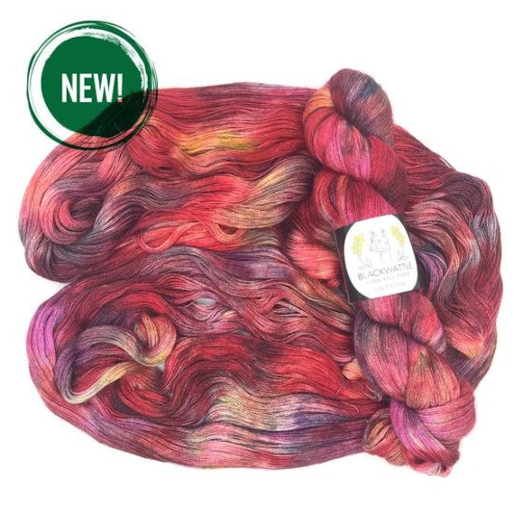 Blackwattle - Lilly Pilly 2ply Lace - Unacknowledged