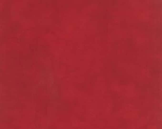 Primitive Muslin Flannel Christmas Red - 1/2yd