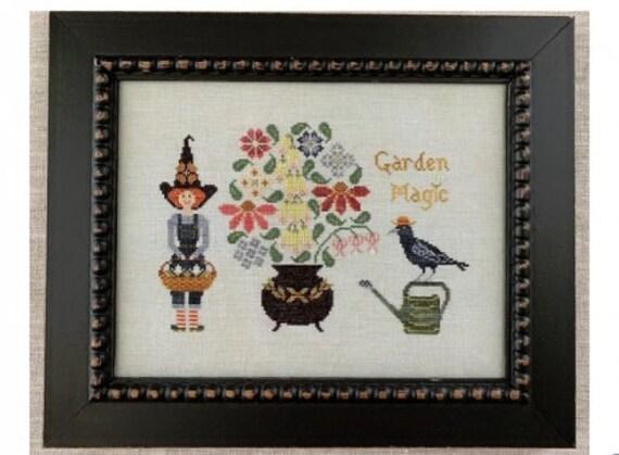 Garden Magic - The Blue Flower - Chart Only