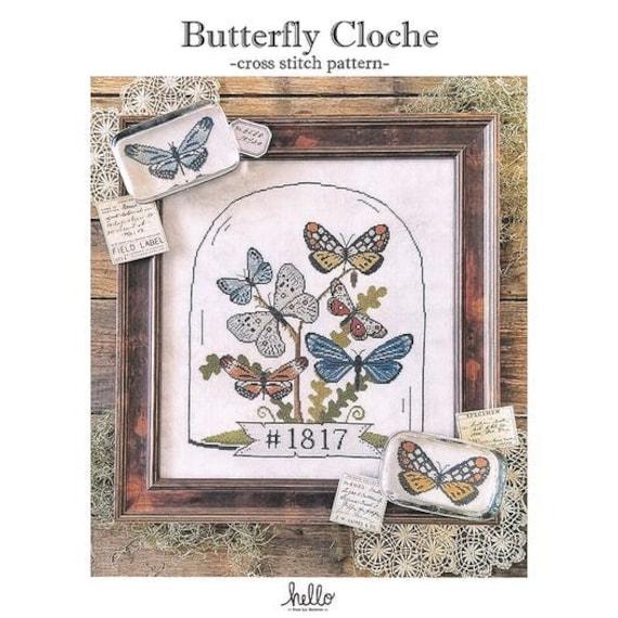 Butterfly Cloche - Hello from Liz Matthews - Chart Only