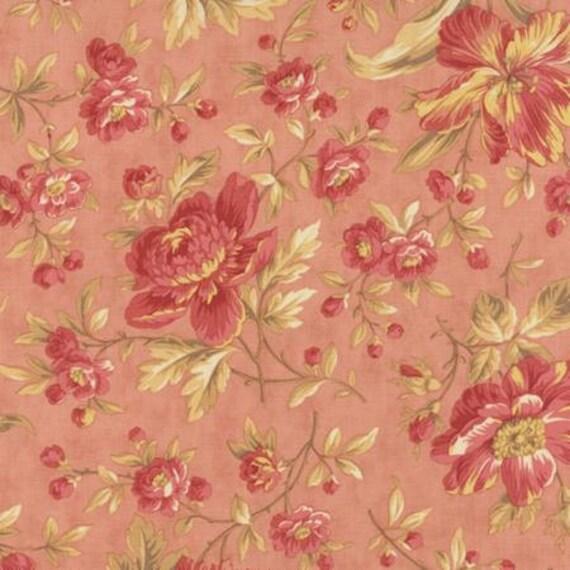 Larkspur Garden Blooms Pink - 1/2yd