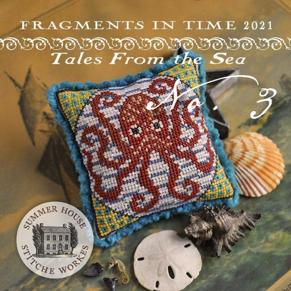 Fragments in Time 2021 No. 3 - Summer House Stitch Workes - Cross Stitch Chart