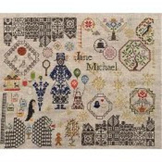 Mary Poppins - AuryTM - Cross stitch chart