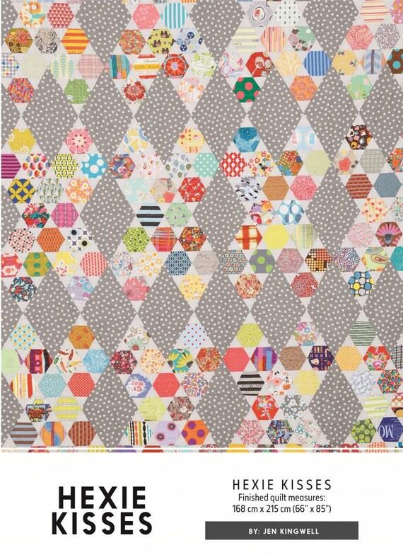 Hexie Kisses by Jen Kingwell - Quilt Pattern