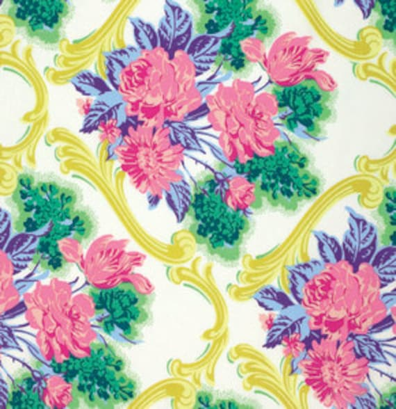 Caravelle Arcade Jessica Green - 1/2 yd