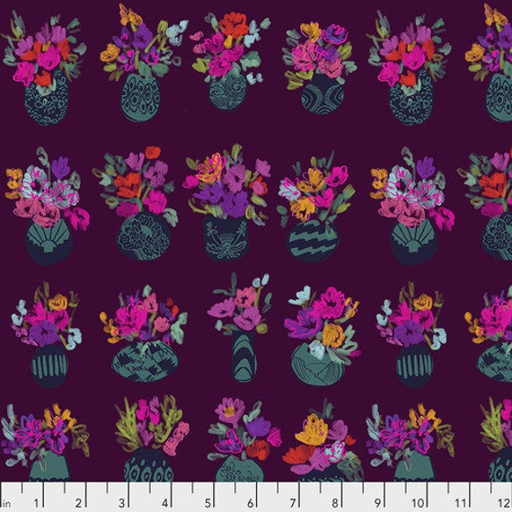 Flower Market - AMH Conservatory PWCO007 Morning - 1/2yd