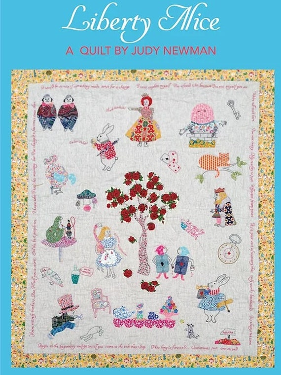 Liberty Alice by Judy Newman - Quilt Pattern Only