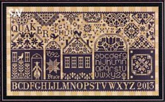 Quaker Street - Marjorie Massey - Cross Stitch Chart