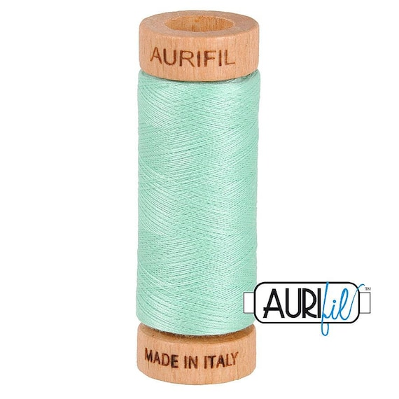 Aurifil 80wt -  Medium Mint 2835