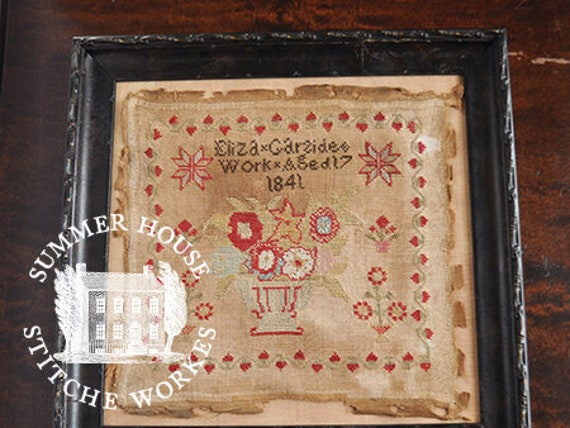 Eliza Garside - Summer House Stitch Workes - Cross Stitch Chart