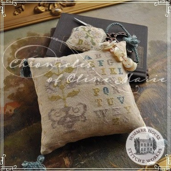 Chronicles of Oline Marie - Summer House Stitch Workes - Cross Stitch Chart