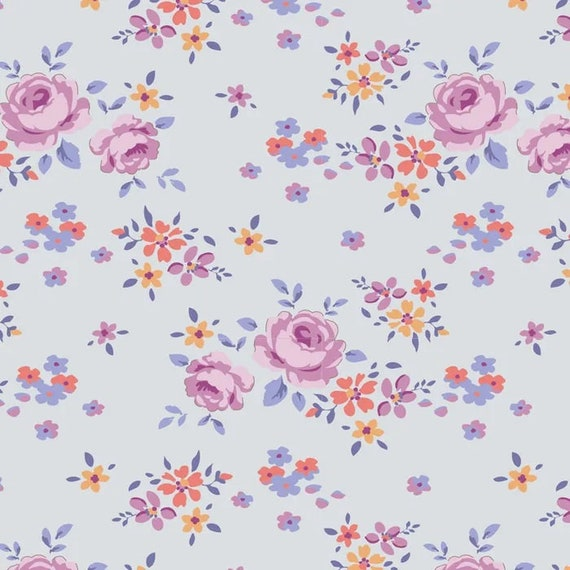 TILDA Maple Farm - Gracie Lavender 100273 - Fat Quarter