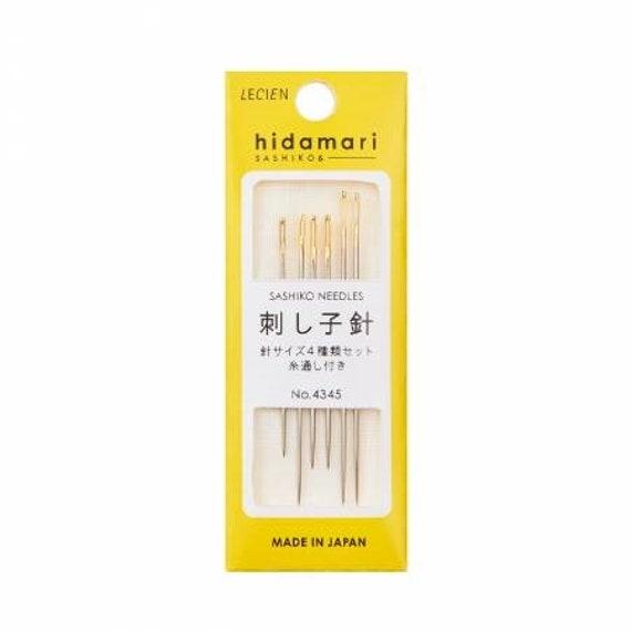 Hidamari Sashiko Needles - Assorted