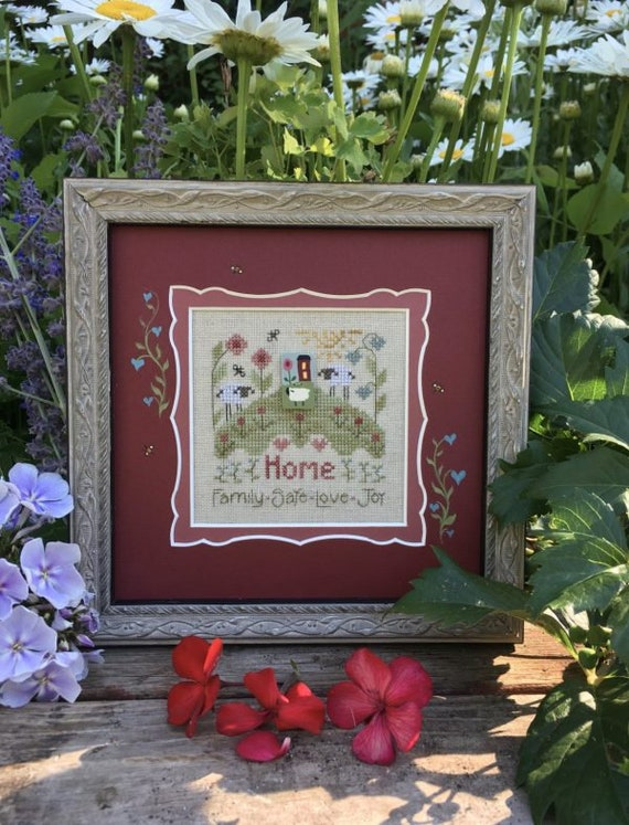 Thoughts of Home - Shepherd's Bush - Cross Stitch Chart