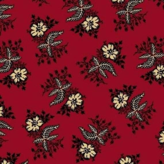 Enduring Legacy - Black Floral on Red