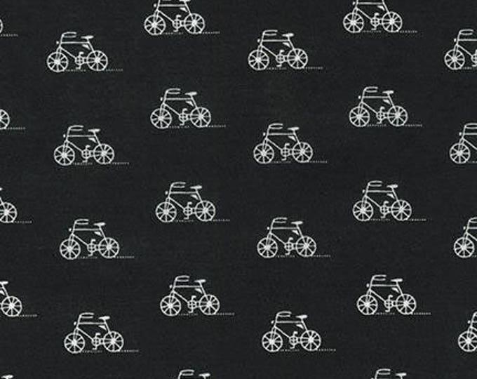 London Calling Lawn 6 - Bicycles Black - 1/2 yard