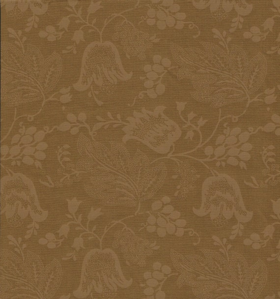 Dutch Chintz - Dark Ochre - Ton sur Ton