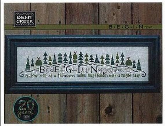 Begin Row - Bent Creek - Chart Only