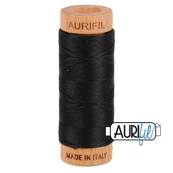 Aurifil 80wt -  Black 2692