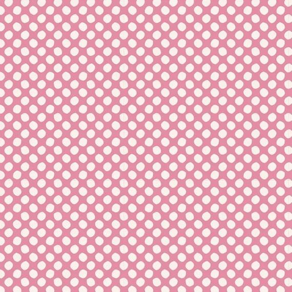 TILDA Classic Basics - Paint Dot Pink 130034
