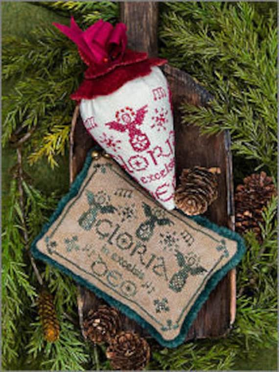 Gloria - Caroling Berries by Erica Michaels - Chart