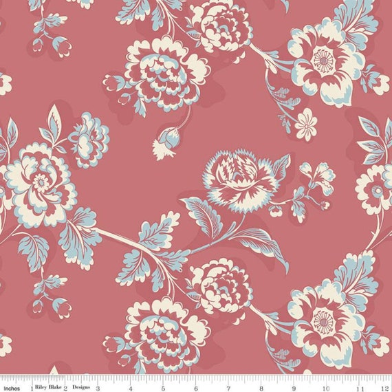 Jane Austen at Home - Lady Catherine C10012 - 1/2yd