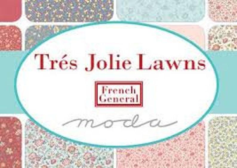 1387612LW Tres Jolie Lawn 12yd French General