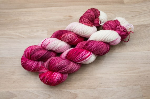 Obsession Yarns Fingering - Strawberry Ice