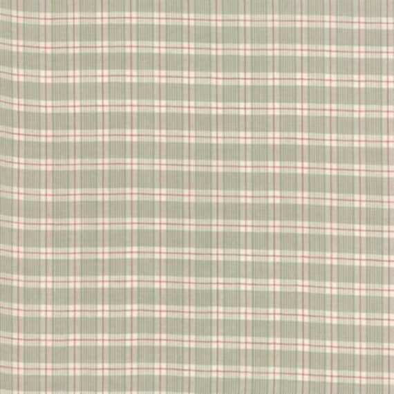 Petite Woven Silky Cotton Plaid Rouge Roche - 1/2yd