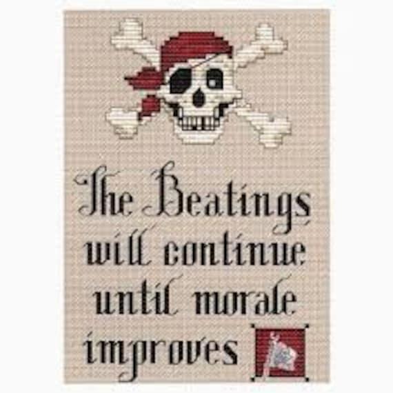 Pirate's Creed - Sue Hillis Designs - Cross Stitch Chart