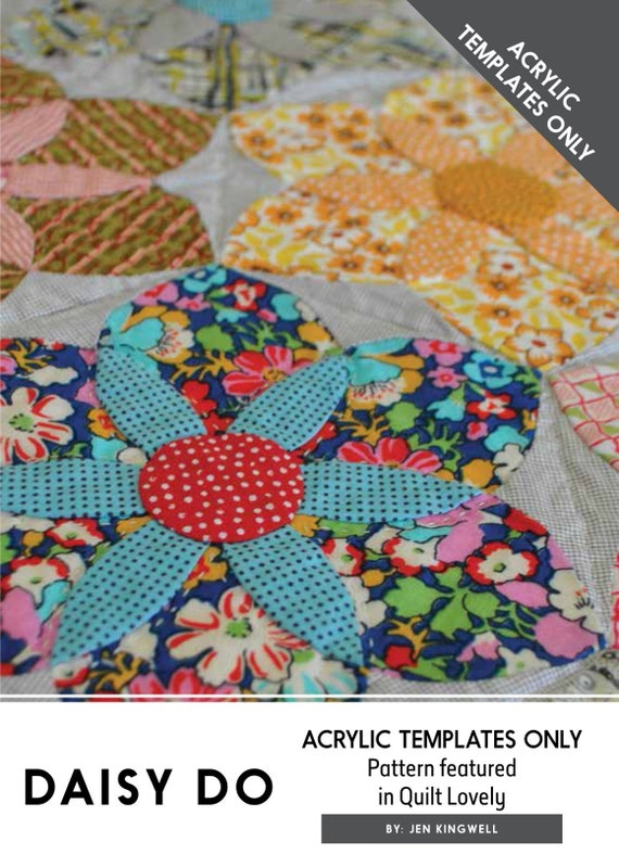 Daisy Do by Jen Kingwell - Pattern and Templates