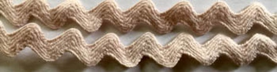 Rick Rack Trim by Dames of the Needle - Americana Froth - 3 yds