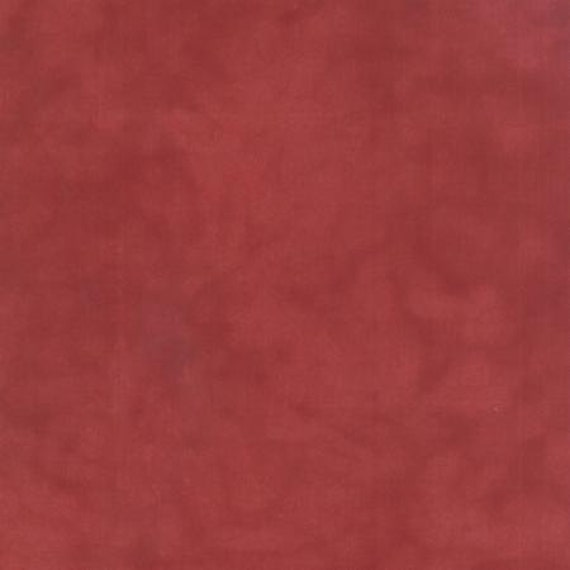 Primitive Muslin Flannel Petunia Red - 1/2yd