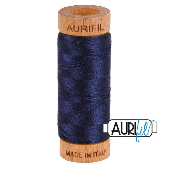 Aurifil 80wt -  Very Dark Navy 2785