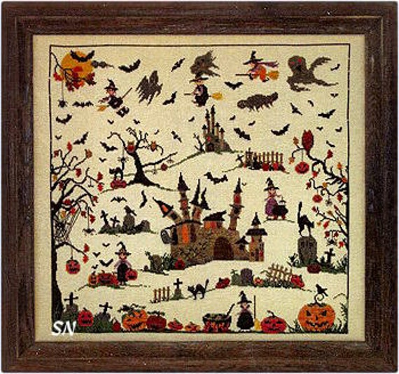 Halloween - Sara Guermani - Chart with buttons