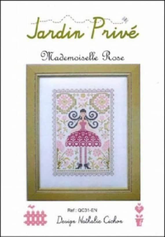 Mademoiselle Rose - Jardin Prive - Cross Stitch Chart