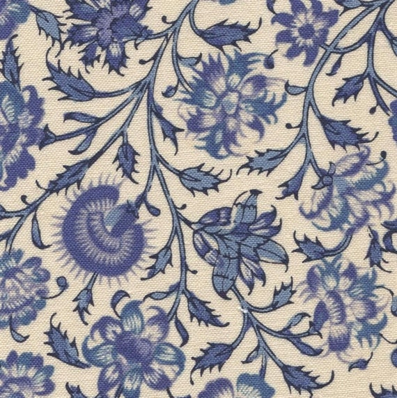 Dutch Heritage - China Blue 2040 - 1/2yd