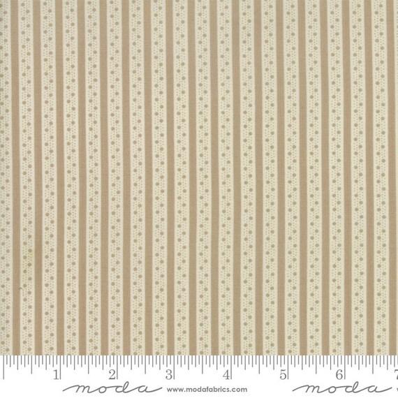 Caroline -  Ticking Stripe Tan 1865615 - 1/2yd
